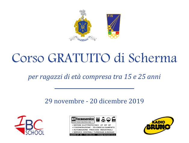 Corso gratis di scherma Bergamo